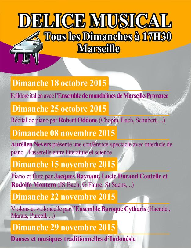 Concerts Marseille Octobre et Novembre 2015, Féminin Pluriel