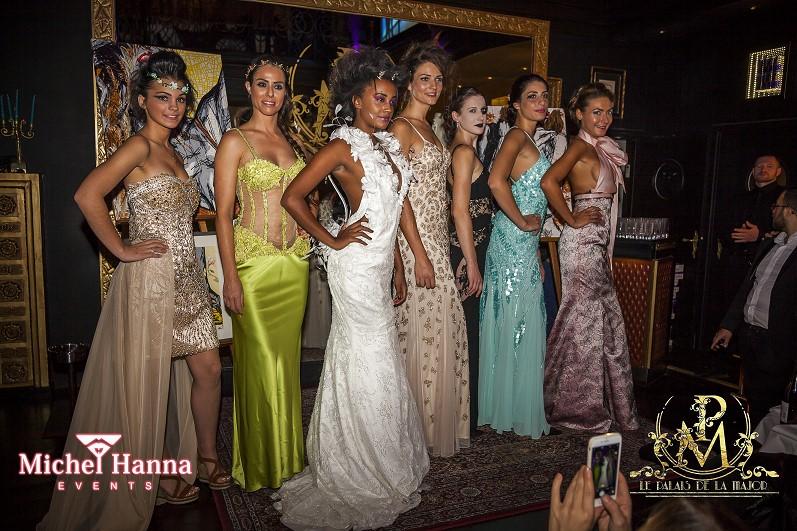 Défilé de mode Palais de la major par Féminin Pluriel le 04 octobre 2015